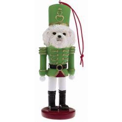 Bichon Frise Soldier ornament