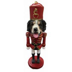 Bernese Mt. Dog  Nut Cracker Ornament