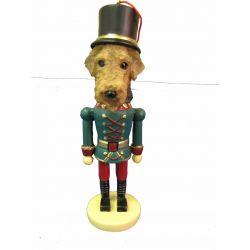 Airedale Terrier Nut Cracker Ornament