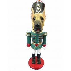 Great Dane, fawn Nut Cracker Ornament