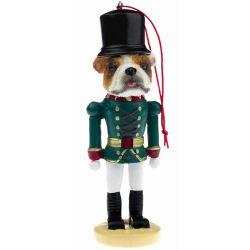 Bulldog Soldier ornament