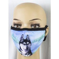 Siberian Husky Face Masks