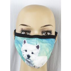 Westie Face Masks
