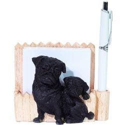 Pug, black