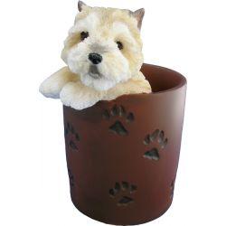Cairn Terrier Pencil Holder