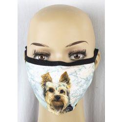Yorkie Face Masks