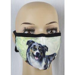 Australian Shepherd Face Masks
