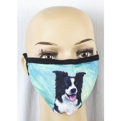 Border Collie Face Masks
