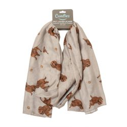 Dachshund, red Pet Lover Scarves