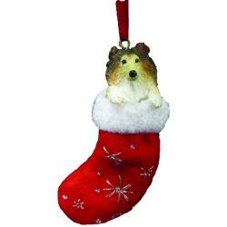 Collie ornament