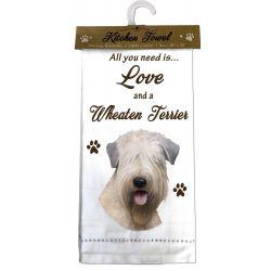 Wheaten Terrier Kitchen Towel