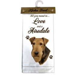 Airedale Kitchen Towel
