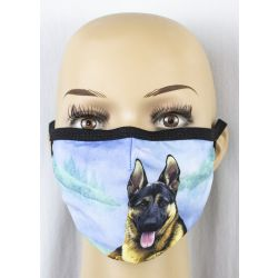 German Shepherd Face Masks