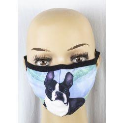 Boston Terrier Face Masks