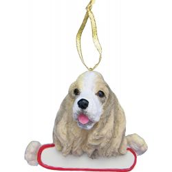 Cocker Spaniel ornament