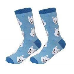 German Shepherd, White Socks