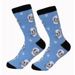 Old English Sheepdog Socks
