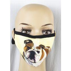 Bulldog Face Masks