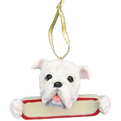 Bulldog ornament