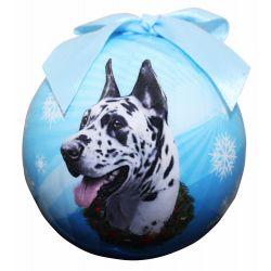 Harlequin Dane Dog