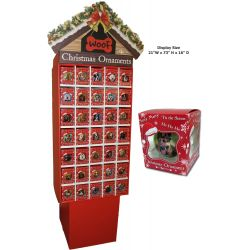 CBO-1 Package Christmas Ball Ornaments