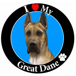 Great Dane, fawn
