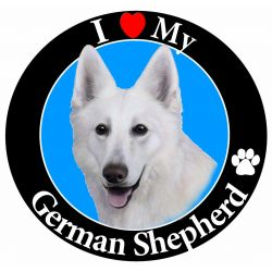 German Shepherd, white