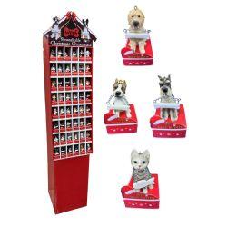Dog Figure Ornament Display