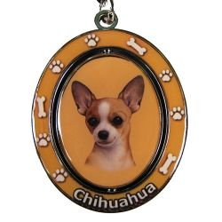 Chihuahua, tan Key Chain