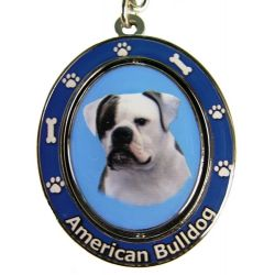 American Bulldog Key Chain