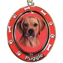 Puggle Key Chain