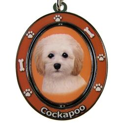 Cockapoo Key Chain