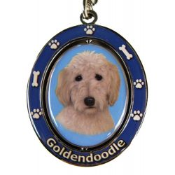 Goldendoodle Key Chain