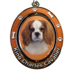 King Charles Cavalier Key Chain