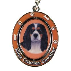 King Charles Tri-color Key Chain