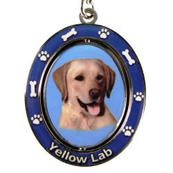 Labrador, yellow Key Chain