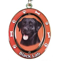 Labrador, black Key Chain