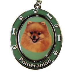 Pomeranian Key Chain