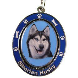 Siberian Husky Key Chain