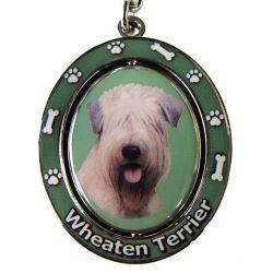 Soft Coated Wheaten Terrier Key Chain