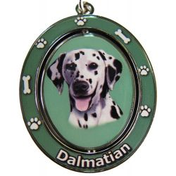Dalmatian Dog Key Chain