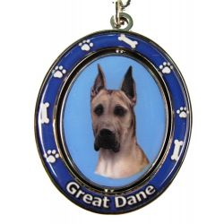 Great Dane, Fawn Key Chain
