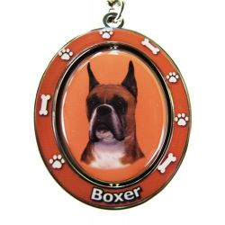 Boxer, Cropped Key Chain