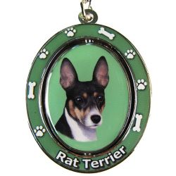 Rat Terrier Key Chain