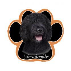 Labradoodle, blackMousepad