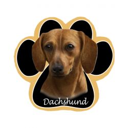 Dachshund, red Mousepad
