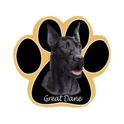 Great Dane, black Mousepad