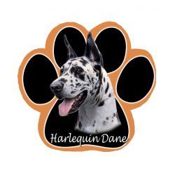 Harlequin Dane Dog Mousepad
