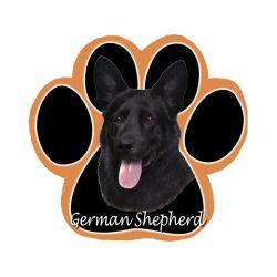 German Shepherd, blackMousepad