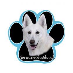 German Shepherd, whiteMousepad